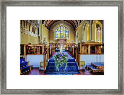 Spirit In The Air Framed Print by Ian Mitchell