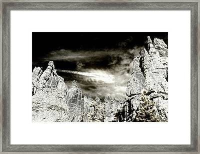 Spirit In The Sky Framed Print by Jim Cook