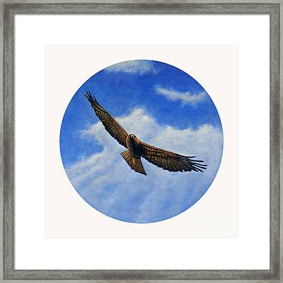 Spirit In The Wind Framed Print by Brian  Commerford