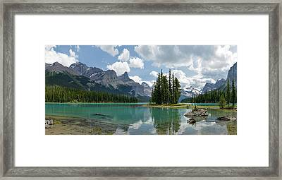 Spirit Island And The Hall Of The Gods Framed Print