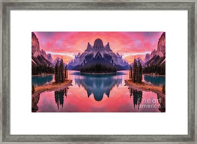 Spirit Island Reflections Framed Print