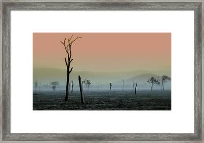 Spirit Land 2 Framed Print by Holly Kempe