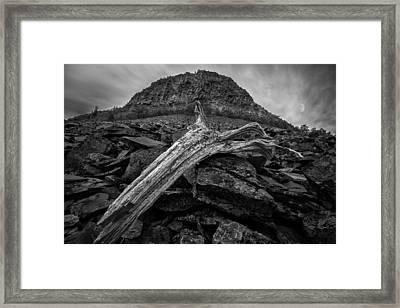 Spirit Mountain Framed Print by Jakub Sisak