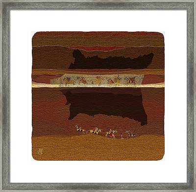 Spirit Of '76...1876 Framed Print by John Helgeson