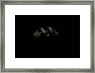 Spirit Of Air 4 Framed Print by William Horden