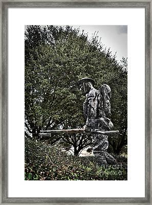 Spirit Of American Doughboy Framed Print by Skip Willits