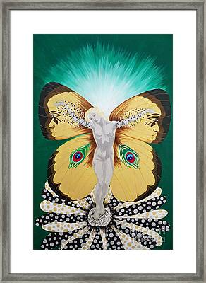 Blaa Kattproduksjoner             Spirit Of Aurelias Flight Framed Print