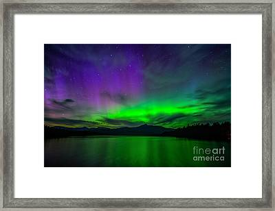 Spirit Of Chocorua Framed Print by Scott Thorp