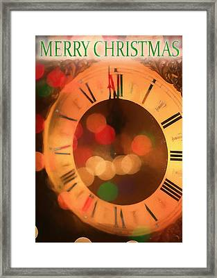 Spirit Of Christmas Card Framed Print by Dan Sproul