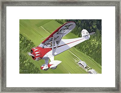 Spirit Of Dynamite Framed Print
