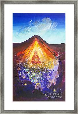 Spirit Of Earth Framed Print