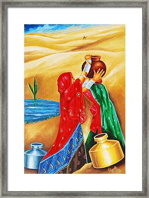 Spirit Of Joy Framed Print by Ragunath Venkatraman