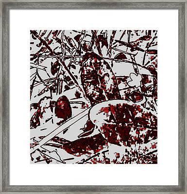 Spirit Of Leaves Framed Print