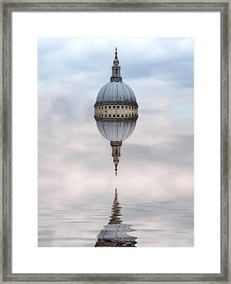Spirit Of London Framed Print by Sharon Lisa Clarke
