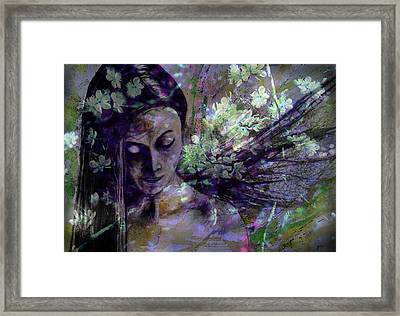 Spirit Of May Framed Print by Zoe Oakley