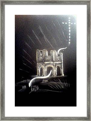 Spirit Of Mellifont Abbey Framed Print