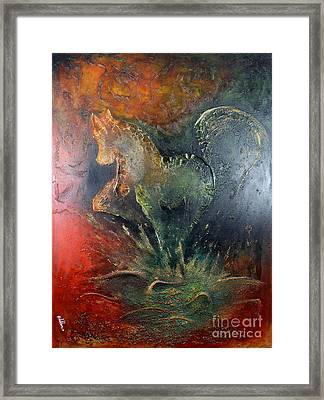 Spirit Of Mustang Framed Print