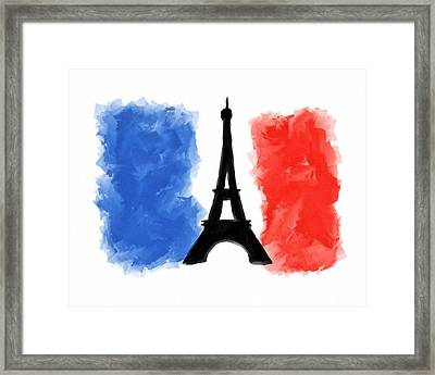Spirit Of Paris Framed Print