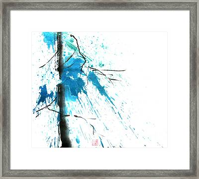 Spirit Of Pine I Framed Print by Mui-Joo Wee