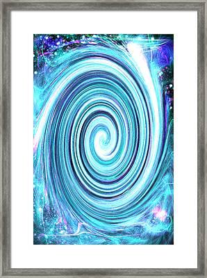Spirit Of Sky I Framed Print