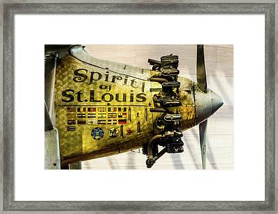Spirit Of St Louis Framed Print