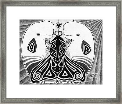 Spirit Of The Arctic Framed Print
