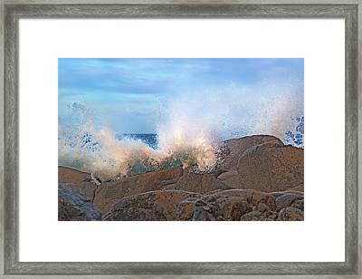 Spirit Of The Coast Ireland Framed Print by Betsy Knapp