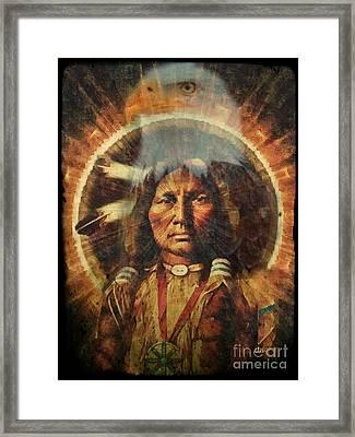 Spirit Of The Eagle Framed Print