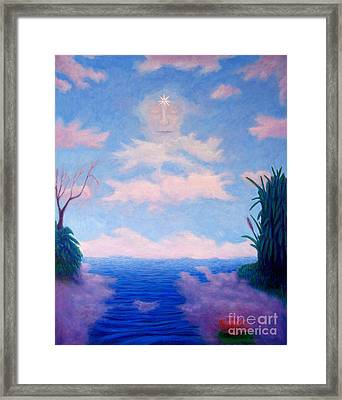 Spirit Of The Lake Framed Print by Brian  Commerford