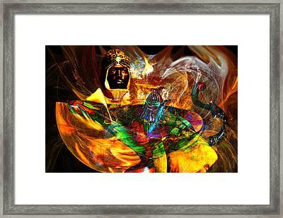 Spirit Of The Lamp Framed Print