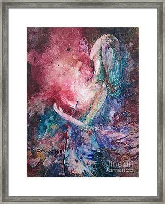 Spirit Of The Living God Framed Print