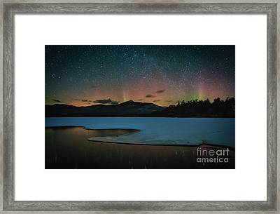 Spirit Of The Mountain Framed Print by Scott Thorp