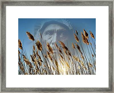 Spirit Of The Sun And Earth Framed Print by Brian Wallace