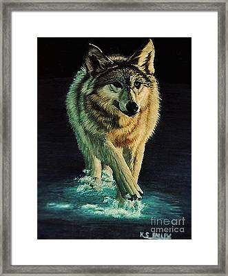 Spirit Of The Wild Framed Print