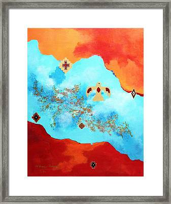 Spirit Power II Framed Print