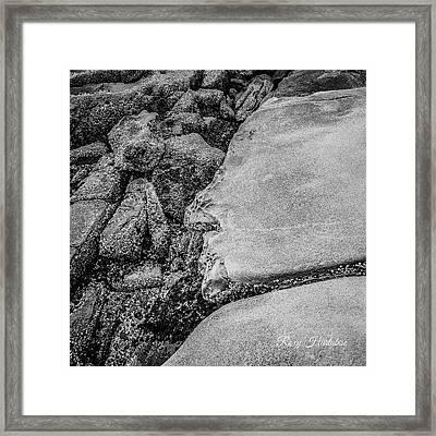 Spirit Rock Framed Print