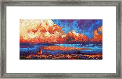 Spirit Sky Framed Print