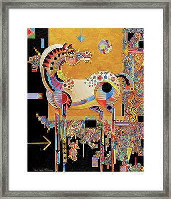 Spirit Stallion Framed Print