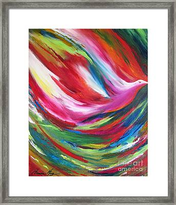 Spirit Takes Flight Framed Print