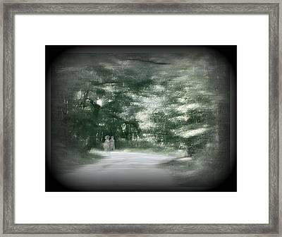 Spirit Walk Framed Print by Leslie Revels Andrews
