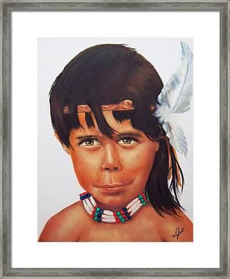 Spirit Watcher Framed Print