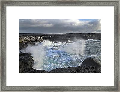 Spirit Waves Ireland Framed Print by Betsy Knapp