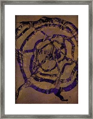 Spirit Web Framed Print by Rick Silas