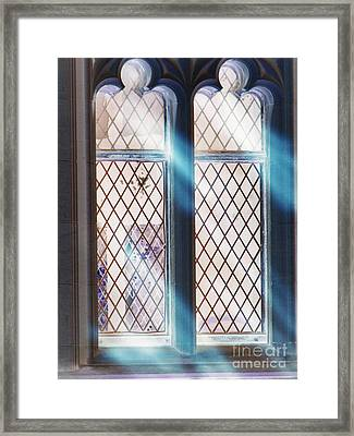 Spirit Window Framed Print by Roxy Riou