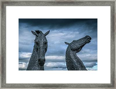 Spirited. Framed Print by Angela Aird