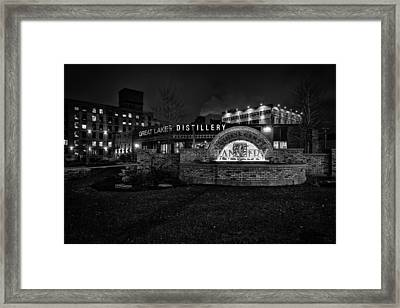 Spirits And History Framed Print by CJ Schmit