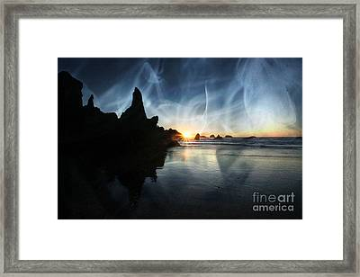 Spirits At Sunset Framed Print