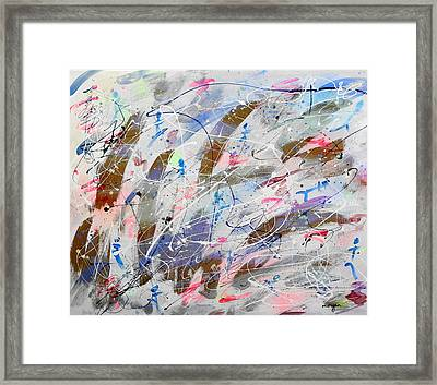 Spirits Dancing Framed Print by Patrick Morgan