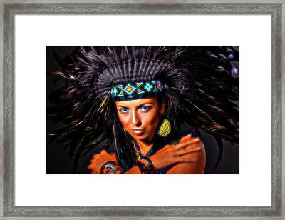 Spirits Framed Print by Elena Riim
