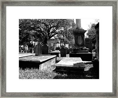 Spirits Of Charleston Framed Print